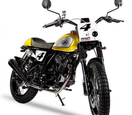Mash Dirt track 50cc Gold