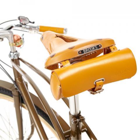 Brooks lederen fietszadel