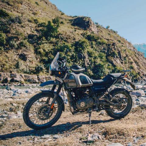 Offroad met de Royal Enfield Himalayan