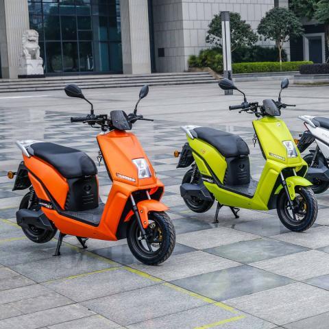 Promo op Lifan elektrische scooter bij Bike Parts