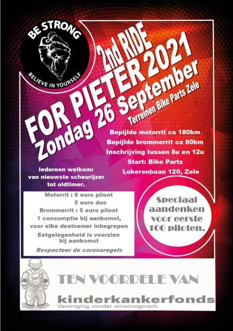 Dance & Ride for Pieter 2021