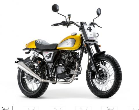 Promotie op de Mash Dirt Track 125 bij Bike Parts