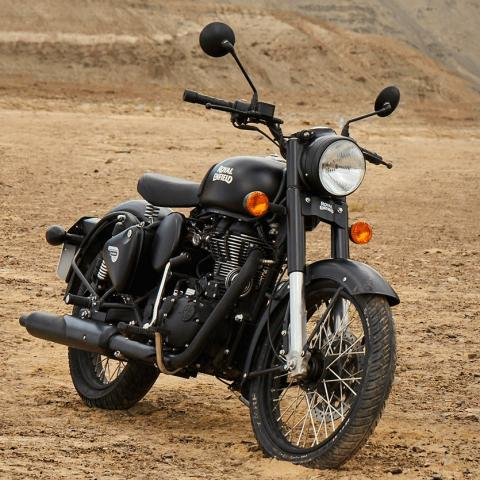 Test Royal Enfield Classic Stealth Black Edition