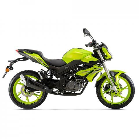 Benelli BN 125 groen bij bike parts zele