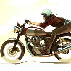 Royal Enfield style