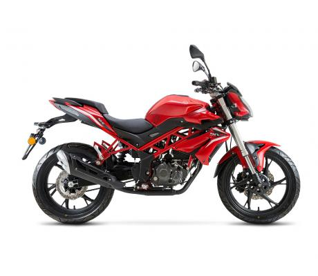 Benelli BN 125 rood