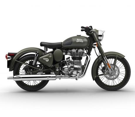 Royal Enfield Bullet Forrest Green nieuw te koop bij Bike Parts