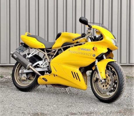 Occasie Ducati 750SS van 1999, licht, koppelrijk