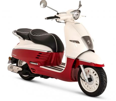 Django 125 E5 RED-WHITE