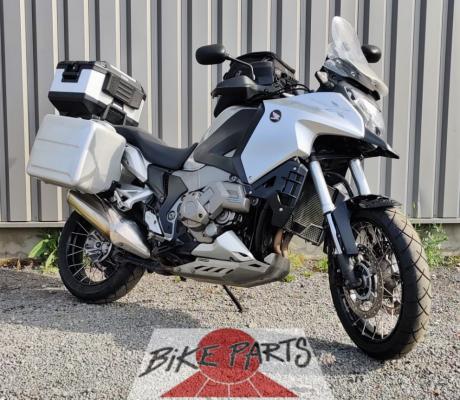 Tweedehands Honda VFR1200XD met DCT automatische versnellingsbak en volledige uitrusting