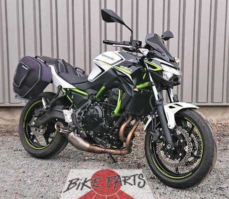 Te koop : Kawasaki Z650 van 2020 met slechts 731 km