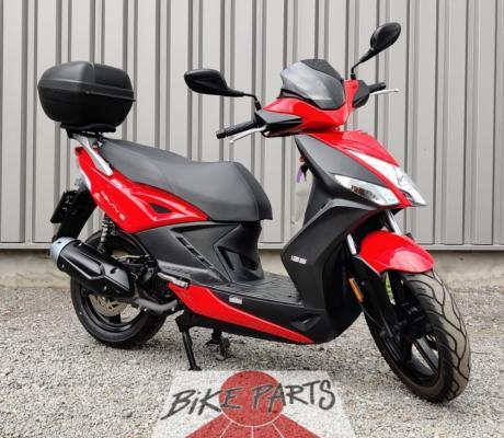 Tweedehands motorscooter Kymco Agility 125, rijbewijs B/A1 met 1 jaar garantie