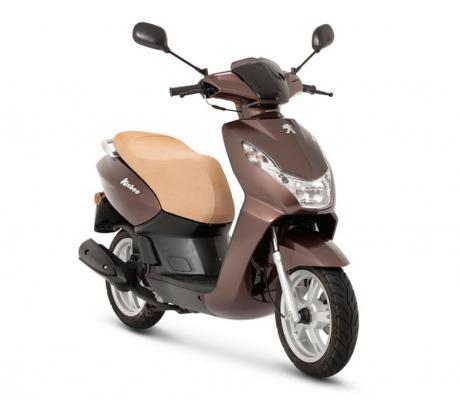 Peugeot Kisbee 50cc 4T bruin