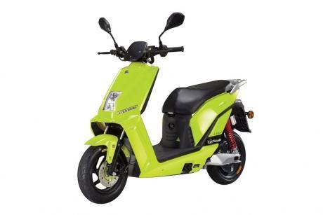 Lifan Deluxe E3 groen bij bike parts